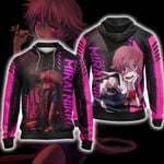 Future Diary Mirai Nikki New Unisex Zip Up Hoodie