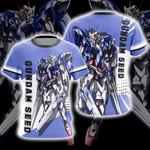 Mobile Suit Gundam Seed Unisex 3D T-shirt