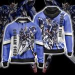 Mobile Suit Gundam Seed Unisex Zip Up Hoodie