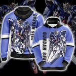 Mobile Suit Gundam Seed Unisex 3D Hoodie