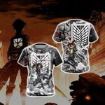 Attack On Titan Eren New Style 3D T-shirt