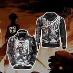 Attack On Titan Eren New Style 3D Hoodie