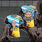 One Punch Man Gym New Style Unisex 3D T-shirt