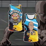 One Punch Man Gym New Style Unisex 3D Tank Top