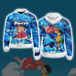 Ponyo New Style Zip Up Hoodie