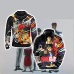 Yu Yu Hakusho -  Team Urameshi Unisex 3D Hoodie