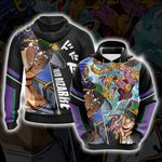 Jojo's Bizarre Adventure New Version Unisex 3D Hoodie