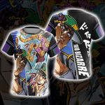 Jojo's Bizarre Adventure New Version Unisex 3D T-shirt