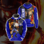 One Piece Sabo New Look Unisex 3D Hoodie