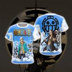One Piece Trafalgar Law New Unisex 3D T-shirt