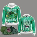 Pokemon - Bulbasaur Snooze Club Unisex Zip Up Hoodie