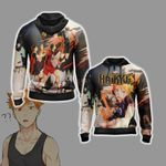 Haikyuu New Version Unisex Zip Up Hoodie