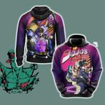 Jojo's Bizarre Adventure - Jotaro Unisex 3D Hoodie