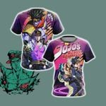 Jojo's Bizarre Adventure - Jotaro Unisex 3D T-shirt