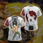 The Seven Deadly Sins Escanor New 3D T-shirt