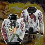 The Seven Deadly Sins Escanor New 3D Hoodie