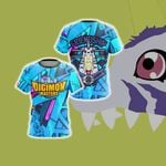 Digimon Master Friendship Unisex 3D T-shirt