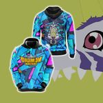 Digimon Master Friendship Unisex 3D Hoodie
