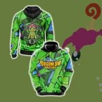Digimon Master Sincerity Unisex 3D Hoodie