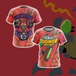 Digimon Master Knowledge Unisex 3D T-shirt