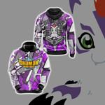 Digimon Master Reliability Unisex 3D Hoodie