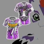 Digimon Master Reliability Unisex 3D T-shirt