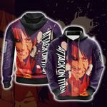 Attack On Titan New Version 3D Hoodie