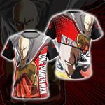 One Punch Man Saitama New Look Unisex 3D T-shirt