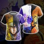 Naruto And Sasuke New Style 3D T-shirt