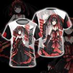 Date A Live - Kurumi New Stye Unisex 3D T-shirt