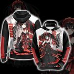 Date A Live - Kurumi New Style Unisex 3D Hoodie