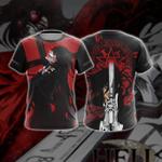 Hellsing Unisex 3D T-shirt