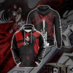 Hellsing Unisex 3D Hoodie