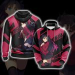 Fate/Stay Night - Unlimited Blade Works Rin Tohsaka 3D Hoodie