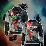 Magic: The Gathering Jace New Unisex Zip Up Hoodie