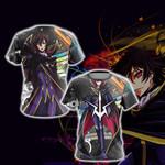 Code Geass Lamperouge Lelouch New Unisex 3D T-shirt
