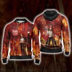 Fate/stay night - Unlimited Blade Works Unisex Zip Up Hoodie