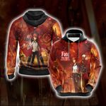 Fate/Stay Night - Unlimited Blade Works 3D Hoodie