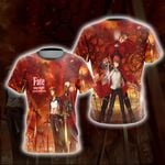 Fate/Stay Night - Unlimited Blade Works 3D T-shirt