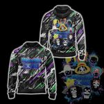 One Piece x Suicide Squad 3D Zip Up Hoodie