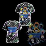 One Piece x Suicide Squad Unisex 3D T-shirt