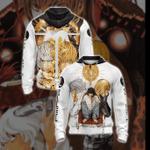 Death Note - Mello Near Light Yagami Unisex Zip Up Hoodie