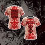 Berserk - Guts Brand of Sacrifice Protective Seal Tailsman Unisex 3D T-shirt