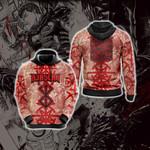 Berserk - Guts Brand of Sacrifice Protective Seal Tailsman Unisex 3D Hoodie