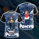 Ponyo New Look Unisex 3D T-shirt
