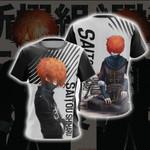 Gintama - Saitou Shimaru Unisex 3D T-shirt