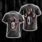 Bleach Skull Unisex 3D T-shirt