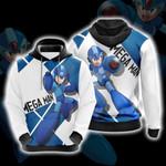 Mega Man New Version Unisex 3D Hoodie