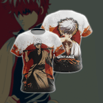 Gintama New Look Unisex 3D T-shirt