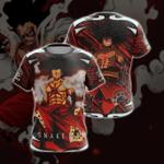 Luffy Snakeman Unisex 3D T-shirt